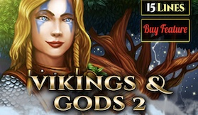Vikings And Gods 2 – 15 Lines Series
